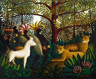 Orville Bulman (American, 1904-1978) In the Jungle, 1967