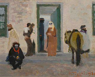 Pedro Figari (Uruguayan, 1861-1938) La Casa del Curandero, 1921