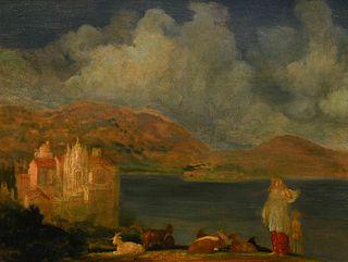 Arthur B. Davies (American, 1862-1928) Memory of Italy