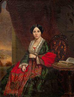 Thomas Waterman Wood  (American, 1823-1903) My Sister-in-Law, 1857