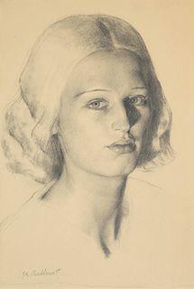 Gerald Leslie Brockhurst (American, 1890-1978) Yedra