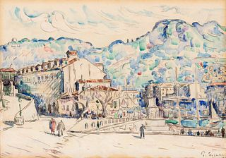 Paul Signac(French, 1863-1935)Nice, 1921