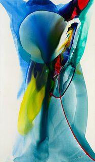 Paul Jenkins (American, 1923-2012) Phenomena Mandala Veil, 1967