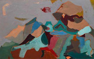Beatrice Mandelman(American, 1912-1998)Formations, c. 1950