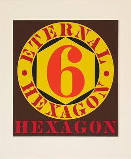 Robert Indiana(American, 1928-2018)Eternal Hexagon (from Ten Works x Ten Painters), 1964