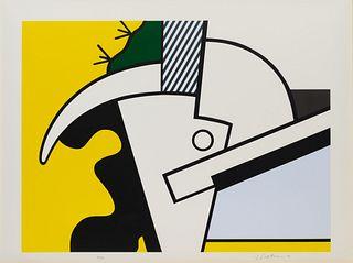 Roy Lichtenstein (American, 1923-1997) Bull Head II (from Bull Head Series), 1973