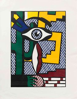 Roy Lichtenstein (American, 1923-1997) American Indian Theme III(from American Indian Theme Series), 1980