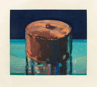 Wayne Thiebaud (American, b. 1920) Dark Cake, 1983