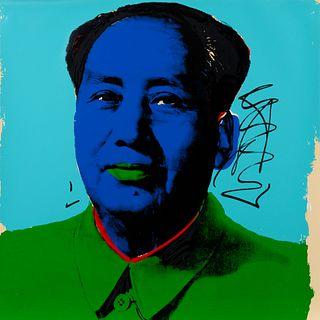 Andy Warhol (American, 1928-1987) Mao, 1972