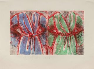 Jim Dine(American, B. 1935)Behind the Thicket, 1993