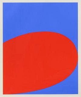 Ellsworth Kelly(American, 1923-2015)Red Blue (from Ten Works x Ten Painters), 1964
