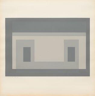 Josef Albers (American/German, 1888-1976) Variant III (from Ten Variants), 1966