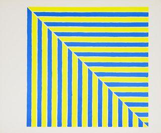 Frank Stella(American, b. 1936)Untitled (Rabat)(from Ten Works x Ten Painters), 1964