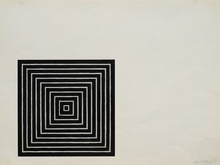 Frank Stella (American, b. 1936) Angriff (from Conspiracy, The Artist as Witness Portfolio), 1971