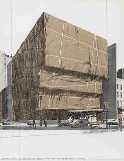 Christo (Bulgarian, 1935-2020) (Some) Not Realized Projects (complete portfolio of 5), 1971