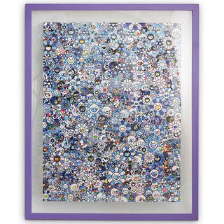 Takashi Murakami (B. 1962) Zero-One Offset Lithograph