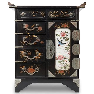 Japanese Jewelry Box Cabinet