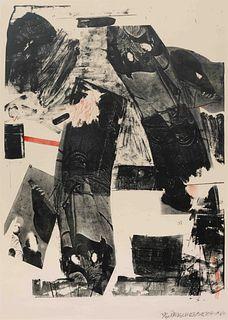 Robert Rauschenberg (American, 1925-2008) Front Roll, 1964