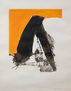 Robert Motherwell (American, 1915-1991) Untitled (from the Basque Suite), 1971
