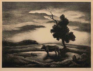 Thomas Hart Benton (American, 1889-1975) Sunset, 1941