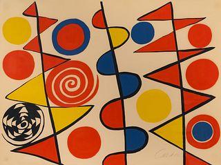 Alexander Calder (American, 1898-1976) Pennants, 1965