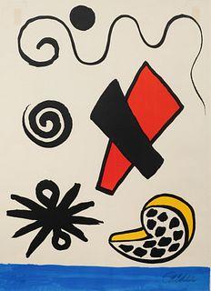 Alexander Calder (American, 1898-1976) Mer et coquillage, 1969