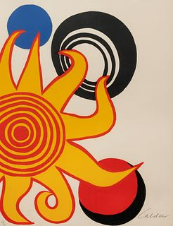 Alexander Calder (American, 1898-1976) Untitled (from Calder, Magie Eolienne), 1972