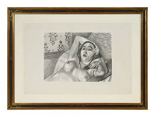 Henri Matisse (French, 1869-1954) Le Repos du Modele (First State), 1922
