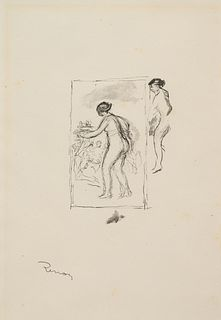 Pierre-Auguste Renoir (French, 1841-1919) Douze lithographies originales de Pierre-Auguste Renoir (Twelve Original Lithographs by Pierre-Auguste Renoi