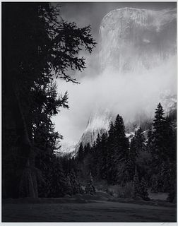 Ansel Adams(American, 1902-1984)El Capitan, Winter Sunrise, Yosemite National Park, 1968