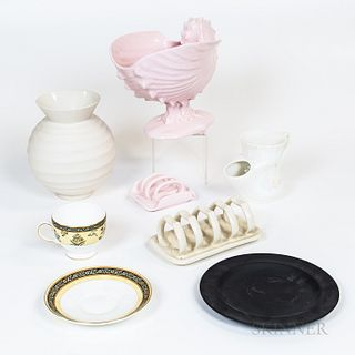 Seven Items Including Wedgwood