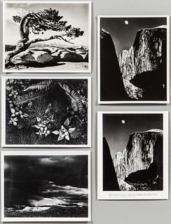 Group of Photographs After Ansel Adams