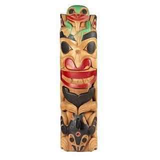 Bill Bellis (Haida, b. 1963) Totem Pole