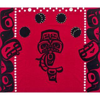 Isaac Tait (Nisga'a, 1965-2000) Button Blanket