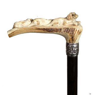 Stag Antler Dog Cane