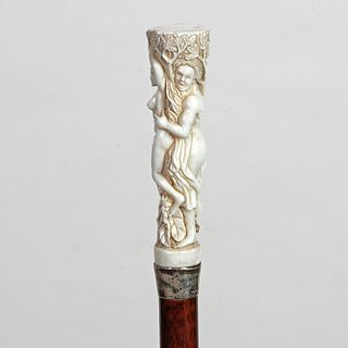 Stag Semi-Erotic Biblical Cane
