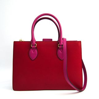 Gucci 409531 Women's Leather Handbag,Shoulder Bag Pink,Red BF338102