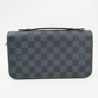 Louis Vuitton Damier Cobalt Zippy XL N41590 Men's Damier Canvas Long Wallet (bi-fold) Damier Cobalt BF336304