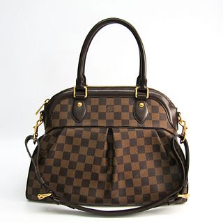 Louis Vuitton Damier Trevi PM N51997 Women's Shoulder Bag Ebene BF337575