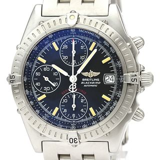 BREITLING Chronomat Black Bird Steel Automatic Watch A13350 BF527532