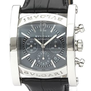 Bvlgari Assioma Automatic Stainless Steel Men's Dress Watch AA44SCH BF527475