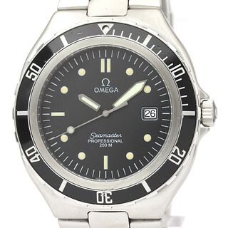 Omega Seamaster Quartz Stainless Steel Men's Sports Watch 396.1062 BF521608