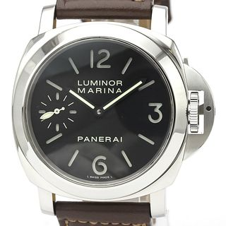 PANERAI Luminor Mechanical Stainless Steel Men's Sports Watch PAM00111 BF527443