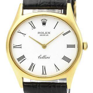 Rolex Cellini Mechanical Yellow Gold (18K) Men's Dress Watch 3806 BF527902