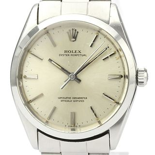 Rolex Oyster Perpetual Automatic Stainless Steel Men's Dress Watch 1002 BF527911