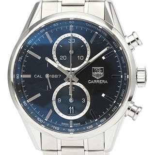 TAG HEUER Carrera Calibre 1887 Chronograph Steel Watch CAR2110 BF526528