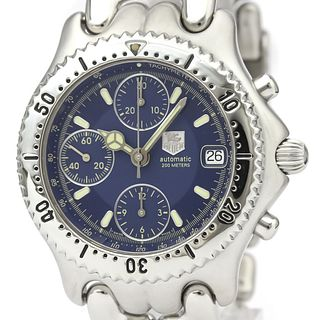 TAG HEUER Sel Chronograph Steel Automatic Mens Watch CG2111 BF527454