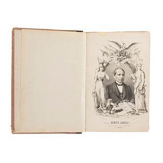 Hijar y Haro, Juan Bautista de - Vigil, José M. Ensayo Histórico del Ejército de Occidente. México, 1874. 5 retratos, 6 planos.