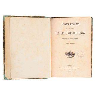Gillow, Eulogio G. Apuntes Históricos por el…Obispo de Antequera,Diócesis de Oaxaca.México: Imprenta del Sagrado Corazón de Jesús, 1889