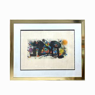 Joan Miro Sculptures II Lithograph